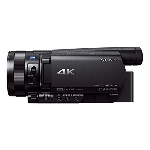 [Amazon.fr] Sony FDR-AX100 4K Ultra HD Camcorder / Videokamera
