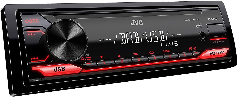 [Conrad / Amazon] JVC KD-X172DB USB-Autoradio mit DAB+ (Hochleistungstuner,Soundprozessor, USB, MP3, WMA, FLAC, AUX-Eingang, 4 x 50 Watt)