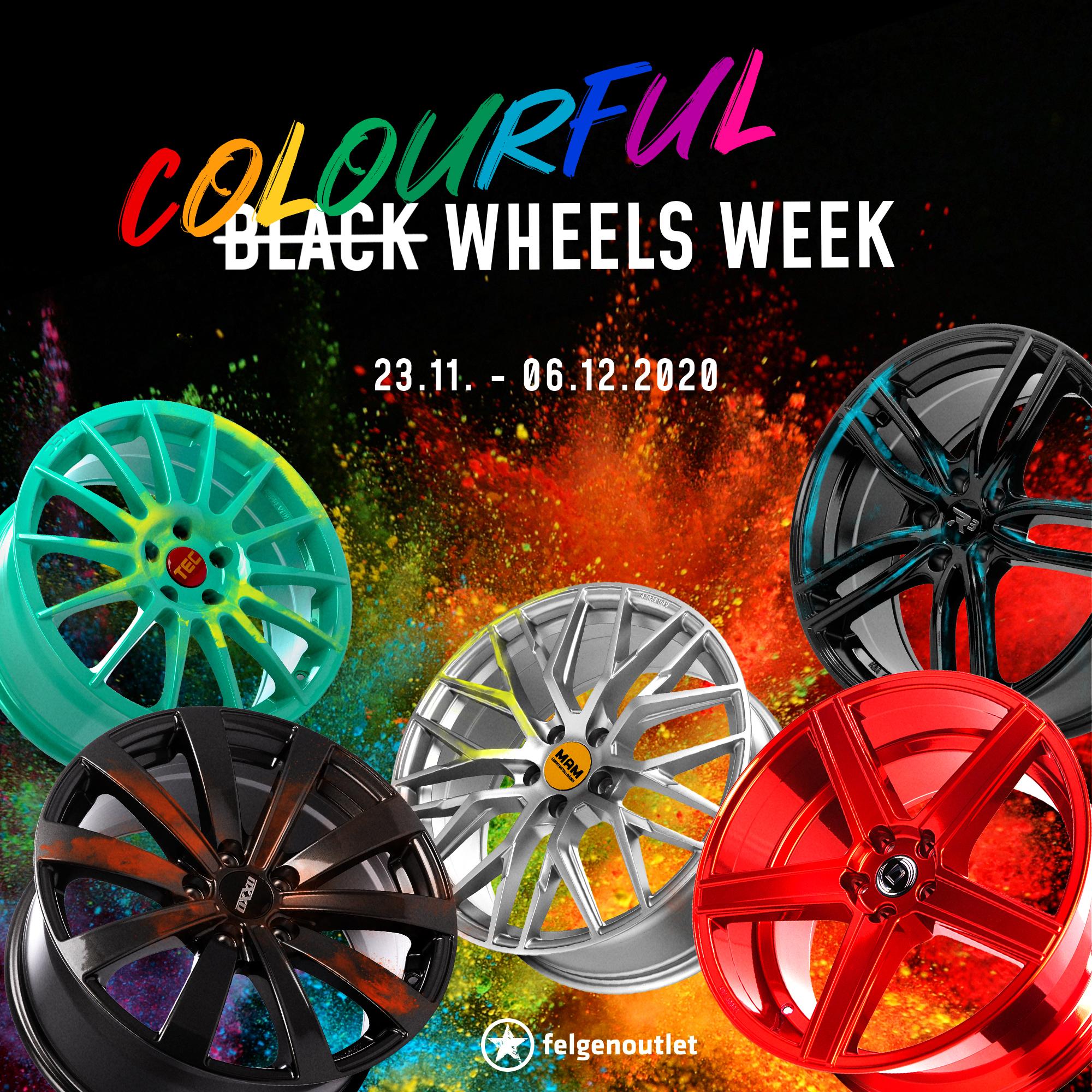 Colourful Wheels Week Felgen bei felgenoutlet.de