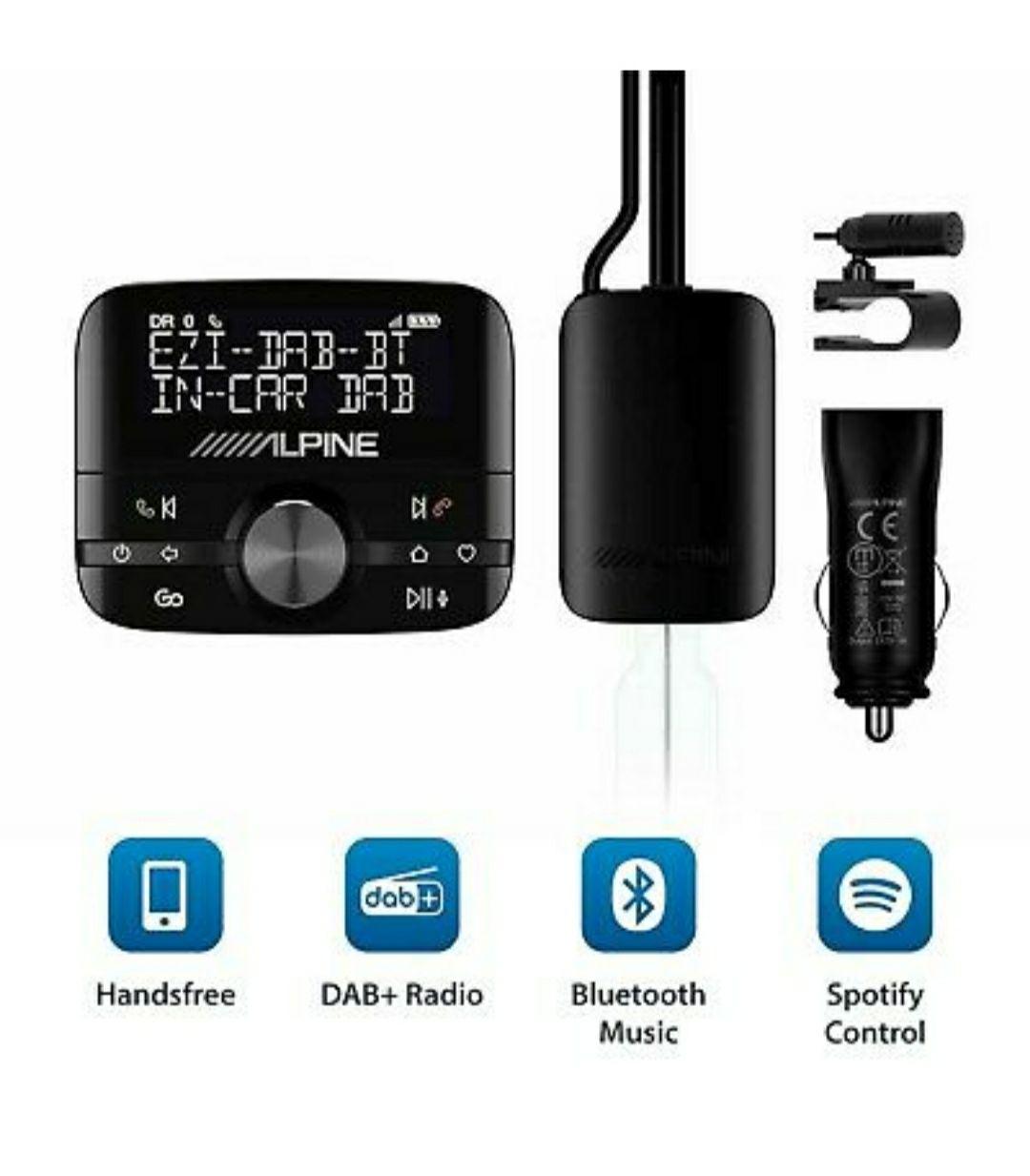 Alpine EZI BT/Pure Highway 600 DAB+ Digitaler Autoradio-Adapter