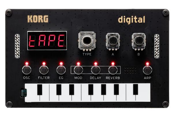 Korg Nu:Tekt NTS-1 DIY monophoner Digitalsynthesizer [Rockshop] Musikinstrumente]