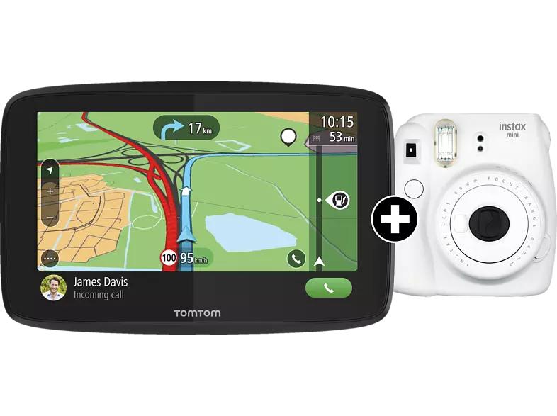 "TOMTOM GO Essential 6"" + instax mini 9 Sofortbildkamera"