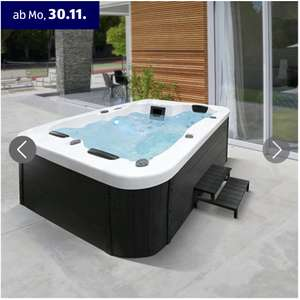 Aldi Süd: Home Deluxe Outdoor Whirlpool White Marble