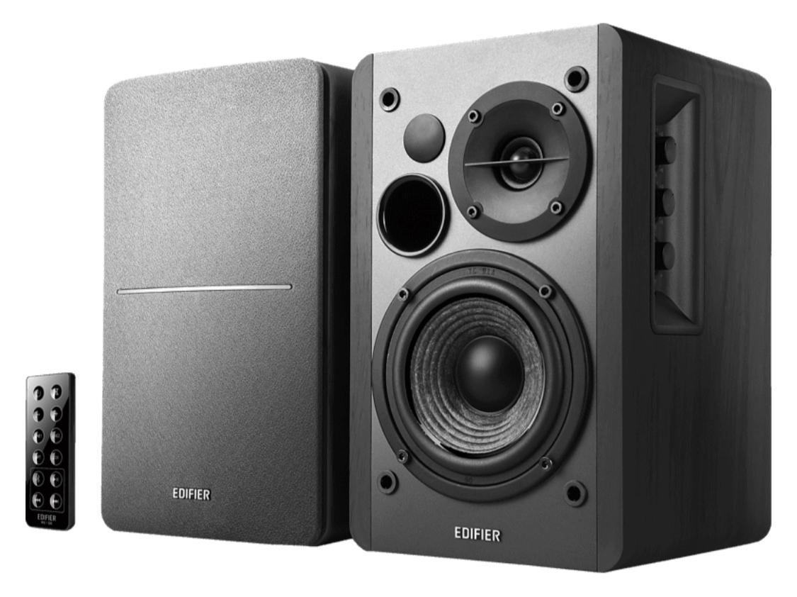 Edifier Studio R1280DB - 2.0 Bluetooth-Lautsprechersystem (42 Watt, Infrarot-Fernbedienung)