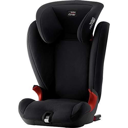 Britax Römer Kindersitz 3,5 - 12 Jahre I 15 - 36 kg I KIDFIX SL BLACK SERIES Autositz Gruppe 2/3 I Cosmos Black (Black Friday Angebot)