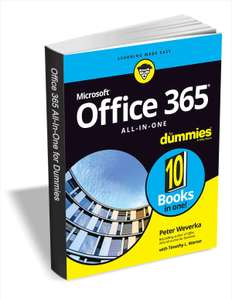 """[Englisch] [PDF] Free eBook: """"Office 365 All-in-One For Dummies"""" $24.00 Value FREE for a Limited Time"""