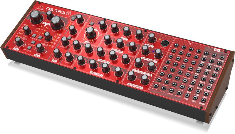 Behringer Neutron Semi-modularer Analog-Synthesizer [Rockshop] [Musikinstrumente]