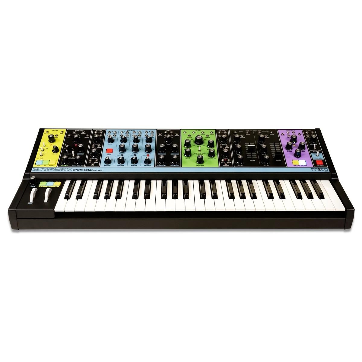 Moog MATRIARCH Semi-Modularer Analog Synthesizer [Rockshop] [Musikinstrumente]