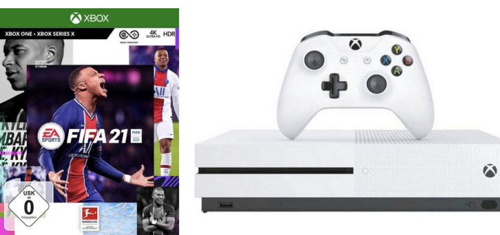 Xbox One S 1T, inkl. FIFA 21 (Neukunden)