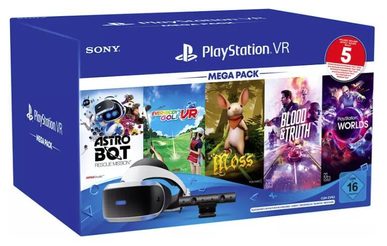 Playstation VR Mega Pack 3 für 224,19€