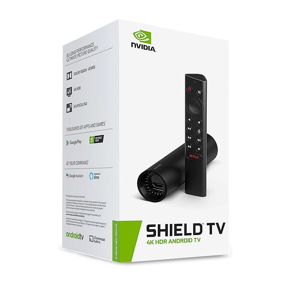 NVIDIA SHIELD TV, Streaming-Client, schwarz - 135,76€