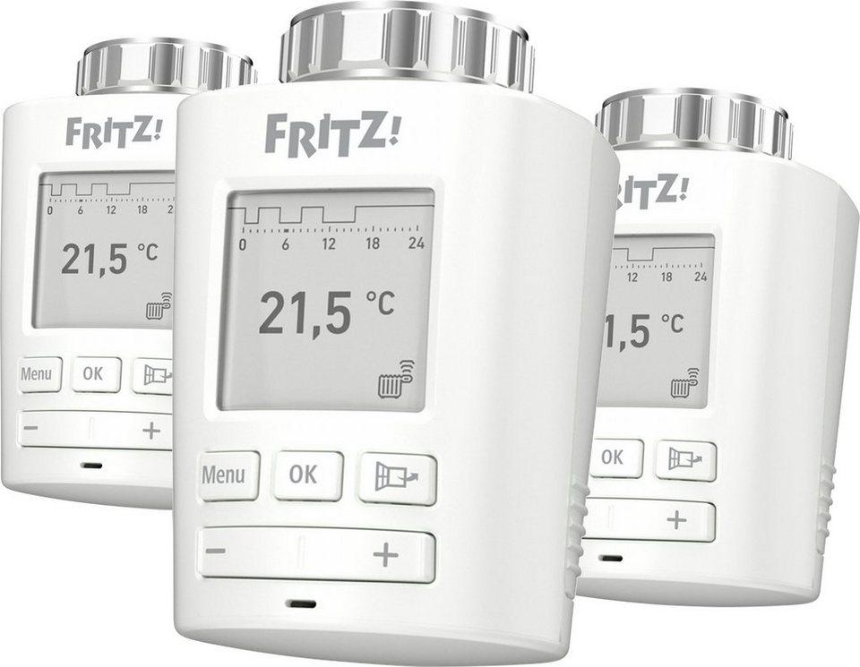 AVM »FRITZ!DECT 301 Heizkörperregler (3er Set) - Neukundenrabatt möglich