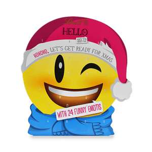Lindt Weihnachtssale 50 % z.B. 4 x Hello Mini Emoji Kalender