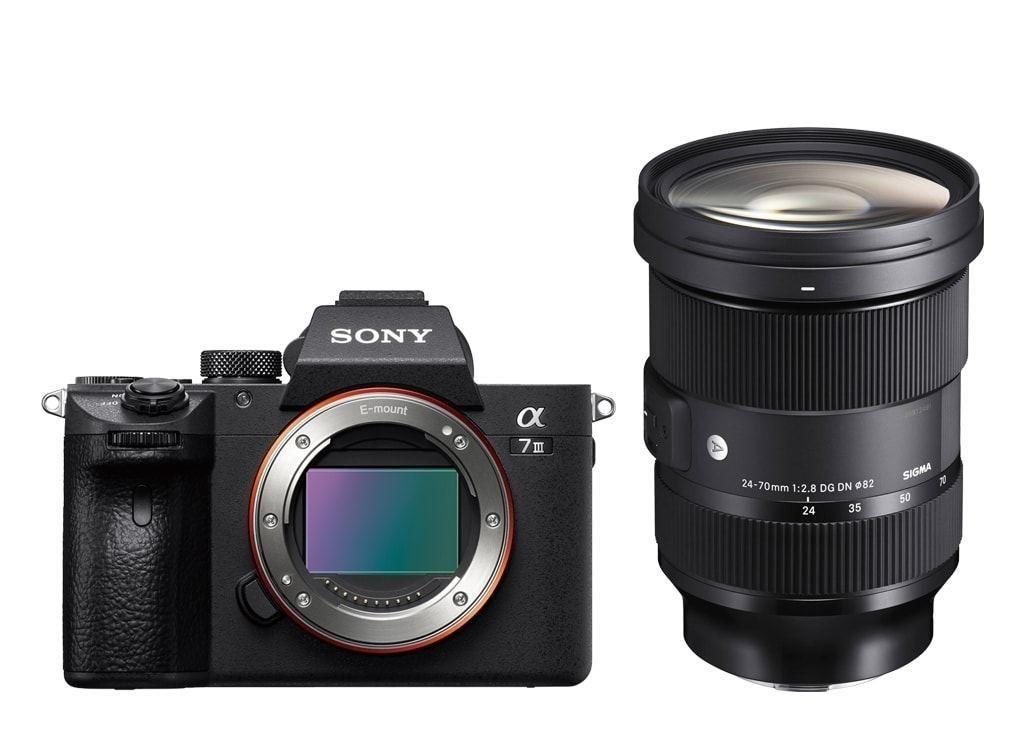 Sony Alpha 7 III + Sigma 24-70mm 2,8 Art (Sony FZ100 Akku, Sigma WR Schutzfilter, +1 Jahr Garantieverlängerung kostenlos) nach CB eff. 2199€