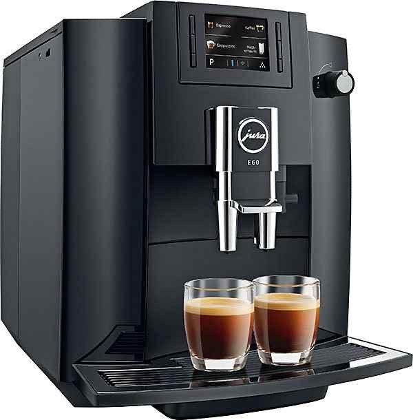 JURA E6 Piano Black (EB) Kaffeevollautomat Saturn