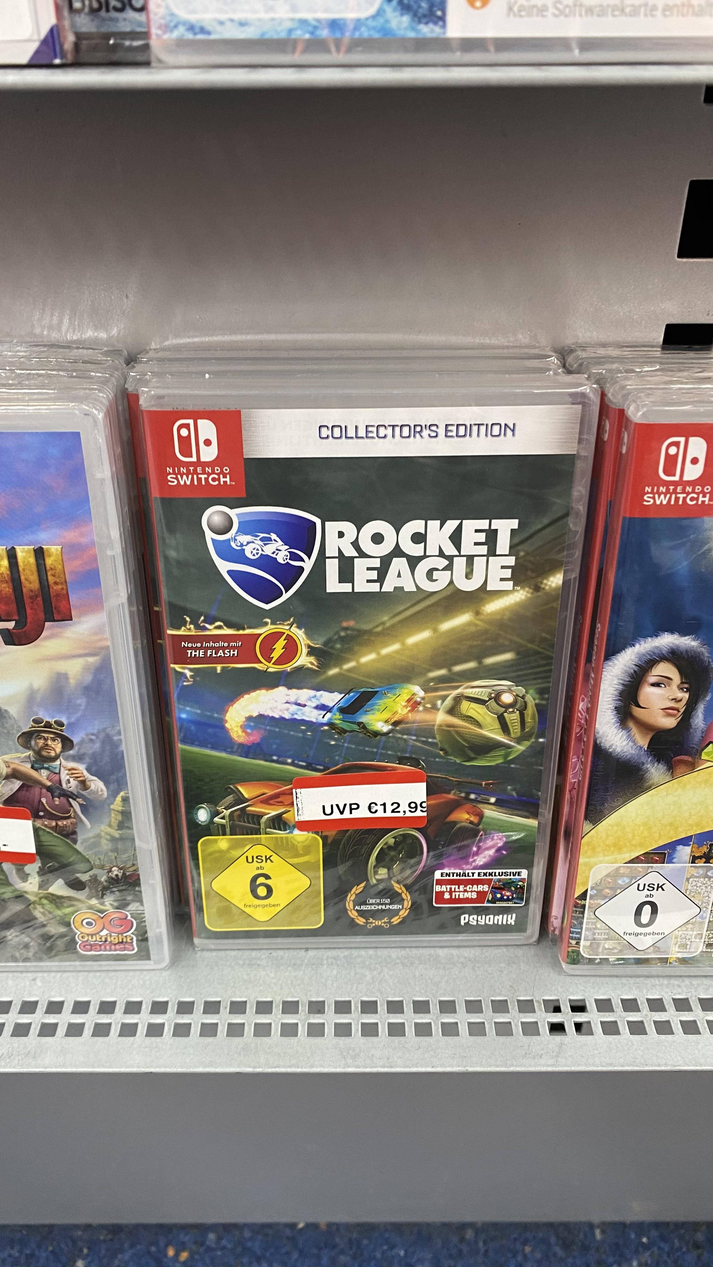[Lokal Saturn Oberhausen Ruhrpott] Nintendo Switch Rocket League Collector's Edition