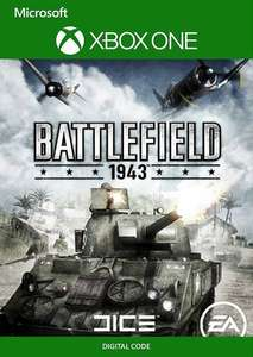Battlefield 1943 (Xbox One / Xbox 360 Code) for 1.09 € @ CDkeys