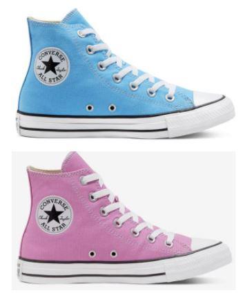 Seasonal Colour Chuck Taylor All Star High Top - Farben coast / pink (Größen 35 bis 48)