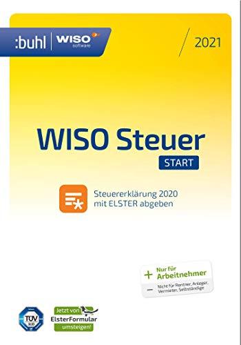 WISO Steuer-Start 2021 für 10,49€ o. Tax 2021 für 9,49€ (Aktivierungscode per Email) [Amazon]