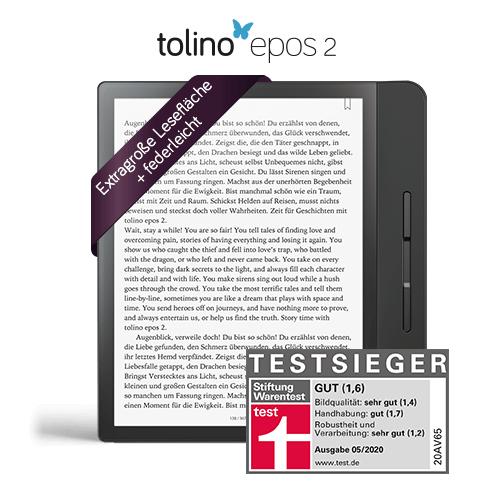 Tolino Epos 2 für 222 Euro