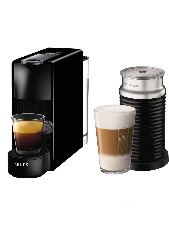 [Prime] Krups Nespresso Essenza Mini mit Aeroccino (Milchaufschäumer)