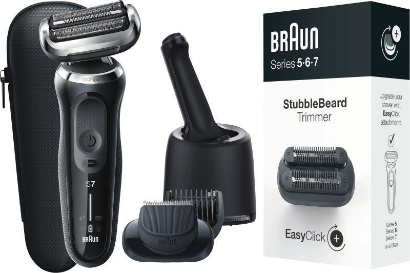 Braun Series 7 inkl. Reinigungsstation und 3-Tage-Bart-Trimmer