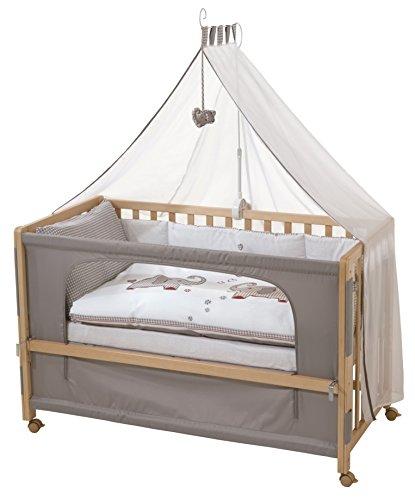 roba Beistellbett, Roombed, Babybett 60x120 cm Jumbo twins