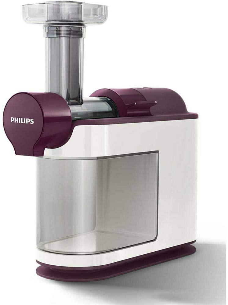 Philips HR1891/80 Entsafter (Slow Juicer) AVANCE mit Microknet-Technologie