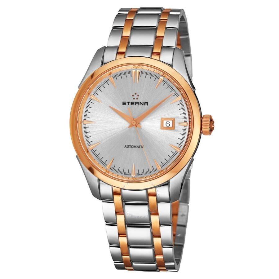 Eterna 1948 Legacy Date Herrenuhr (Automatik Uhrwerk, Edelstahlgehäuse, Wasserdicht bis 5 bar) für 425,61€