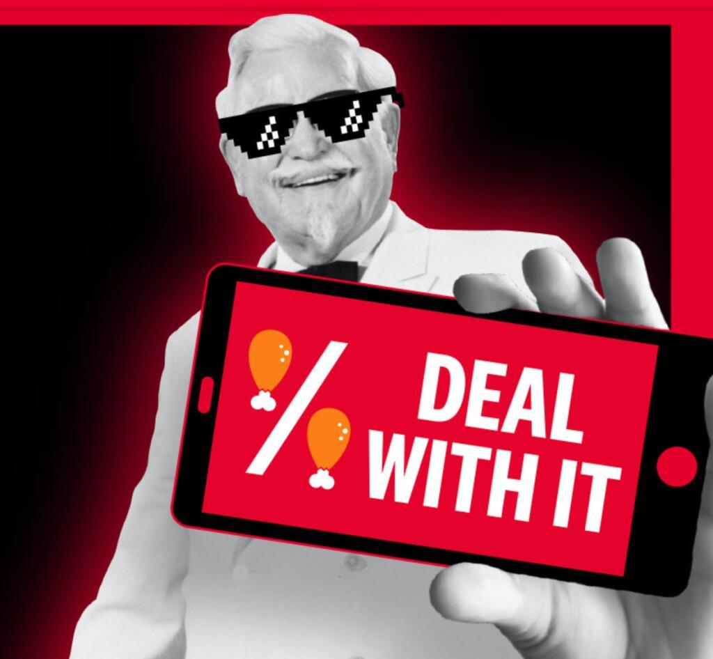 KFC Lockdown Deals wurden verlängert bis 20.12. // z.B. 1 Burger für 1,99€ // 15 Hot Wings für 5€ // Twister + Softdrink für 3,49€