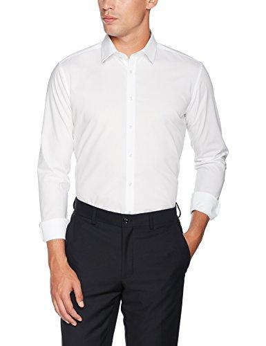 Seidensticker Herren Business Bügelfreies Hemd mit sehr schmalem Schnitt - X-Slim Fit - Langarm - Kent-Kragen