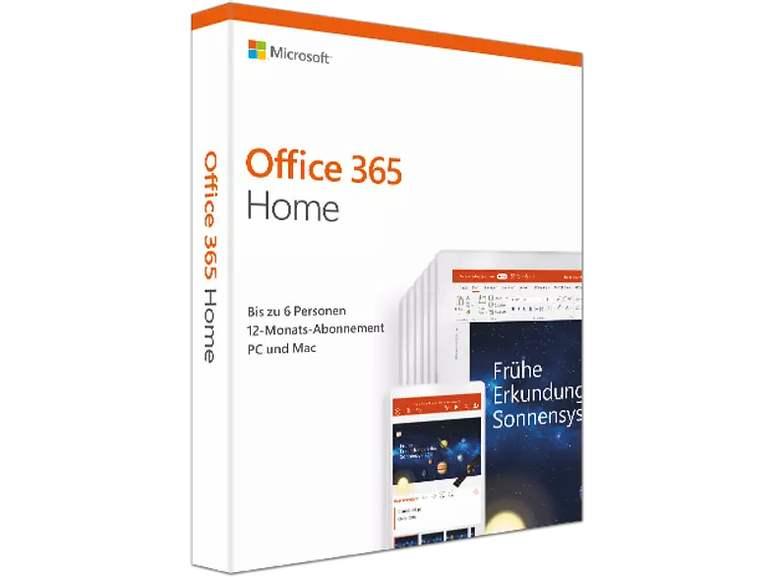 Microsoft Office 365 Home - [PC] 6 User - 1 Jahr