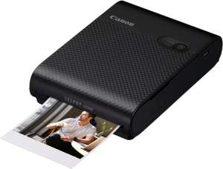 Canon SELPHY Square QX10 Fotodrucker in schwarz