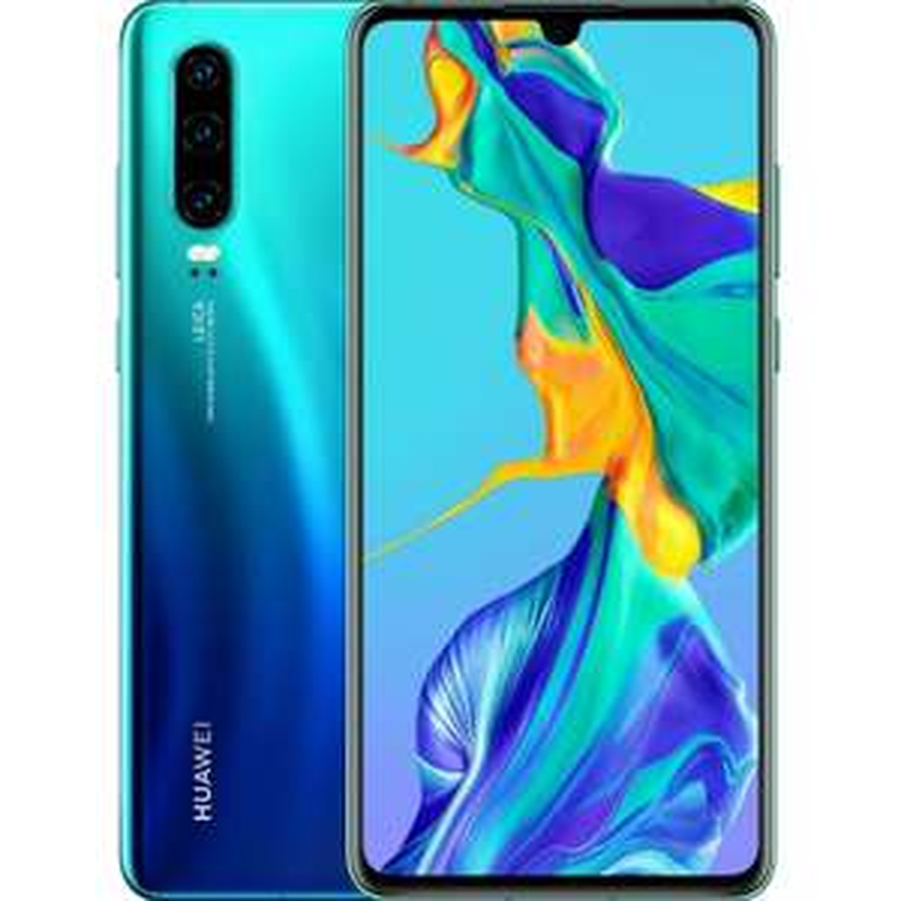 "[eBay+] Huawei P30 Aurora Blue (6.1"", 2340x1080, AMOLED, Kirin 980, 6/128GB + NM-Card, 40MP-Kamera, USB-C, Klinke, NFC, 3650mAh, Android 10)"