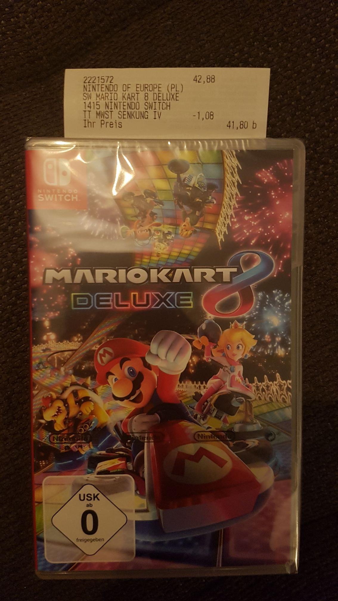 (Lokal) Media Markt Mario Kart 8 Deluxe für Nintendo Switch - Konstanz
