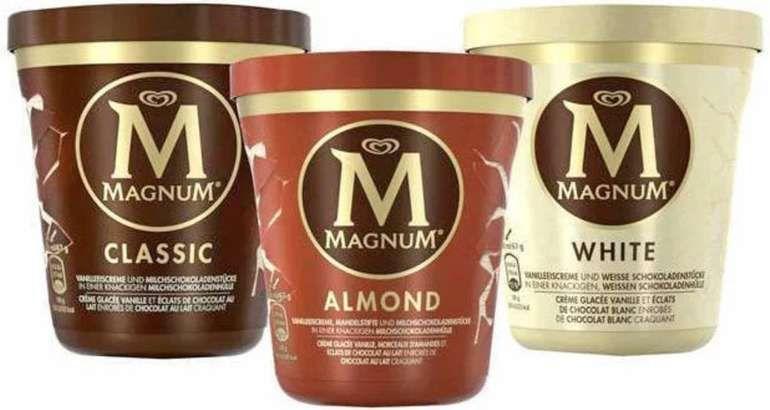 [Aldi Nord +Rewe] Magnum Eisbecher mit Marktkguru Cashback für effektiv 1,40€ (5x pro Acc möglich)