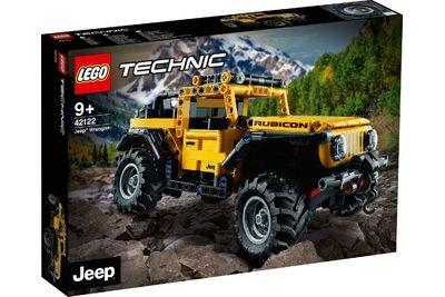 Lego Technic 2021-Neuheiten mit Rabatt vorbestellen (z.B. Jeep Wrangler - 42122 oder McLaren Senna GTR - 42123)