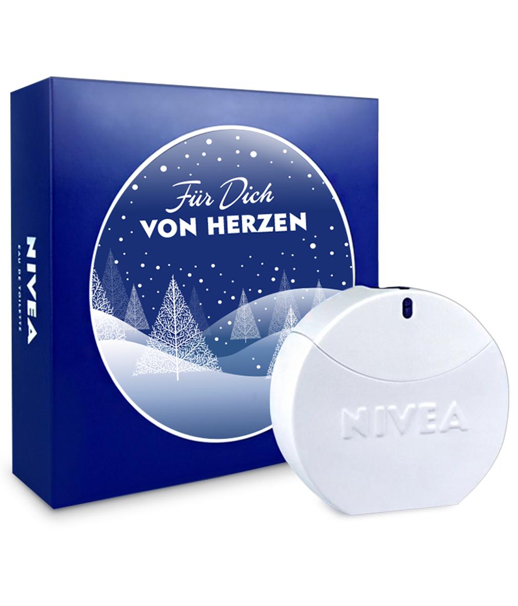 NIVEA Eau de Toilette Damen Parfum 30 ml XMAS Weihnachts Edition inkl. Einsteckkarte