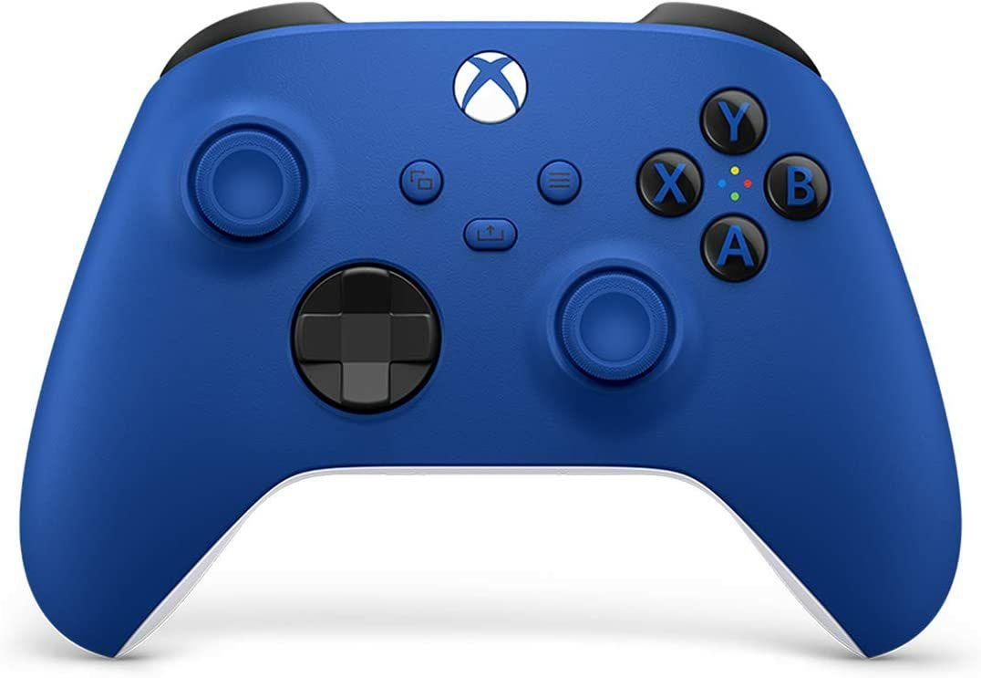 Microsoft Xbox Series X/S Wireless Controller (2020) schockblau (Amazon.fr)
