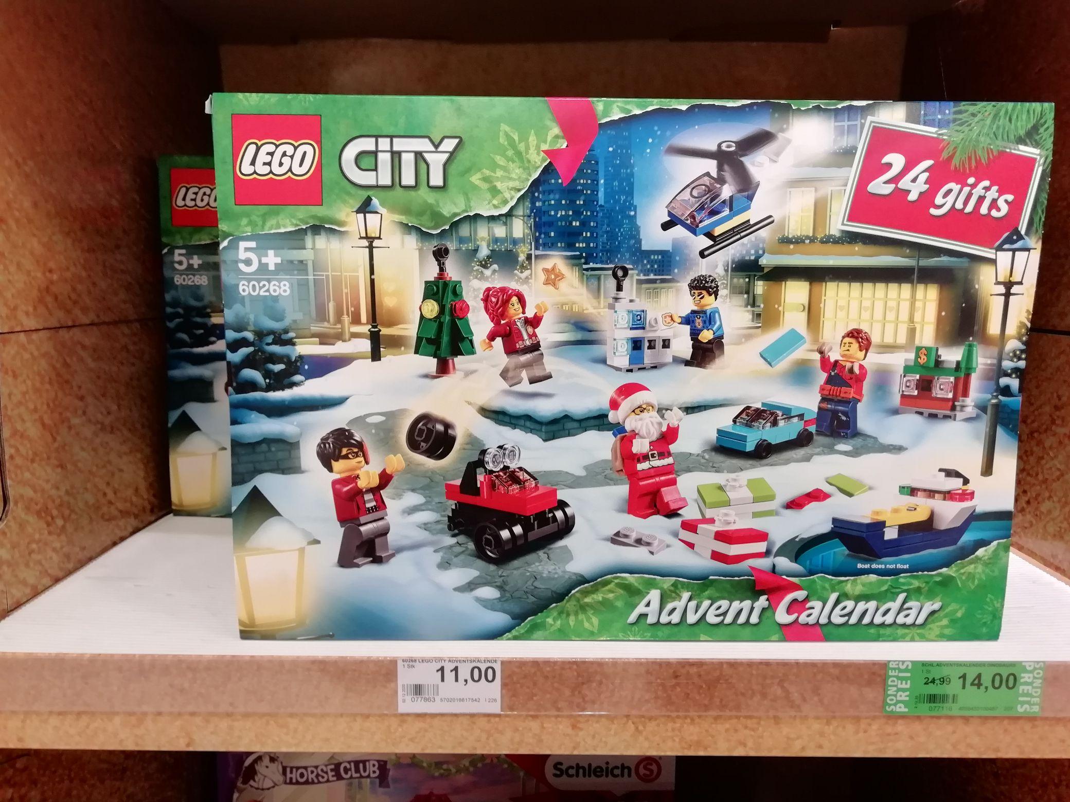 Lego City Adventskalender - Rossmann (Lokal Bielefeld)