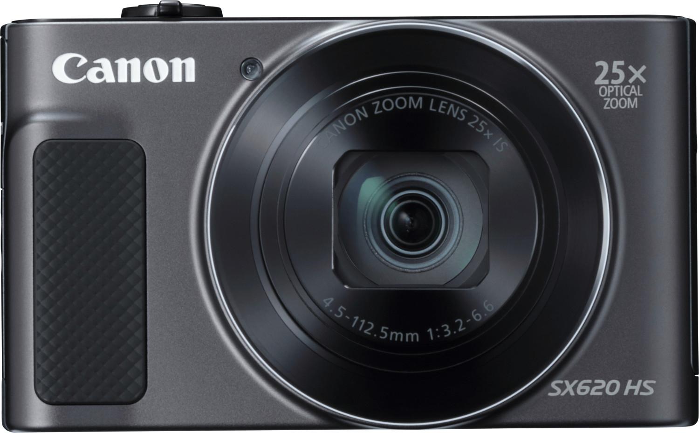 CANON PowerShot SX620 HS Digitalkamera Schwarz, 20.2 Megapixel, 25fach opt. Zoom, LCD (TFT), WLAN