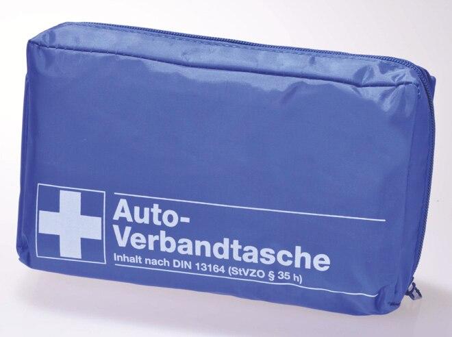 Filmer KFZ-Verbandtasche nach DIN 13164 für 3,99 Euro [Zimmermann]