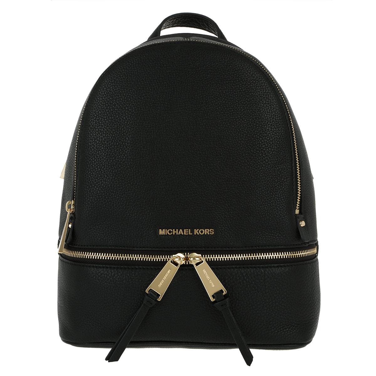 MICHAEL KORS Rhea Zip SM Back Pack Black