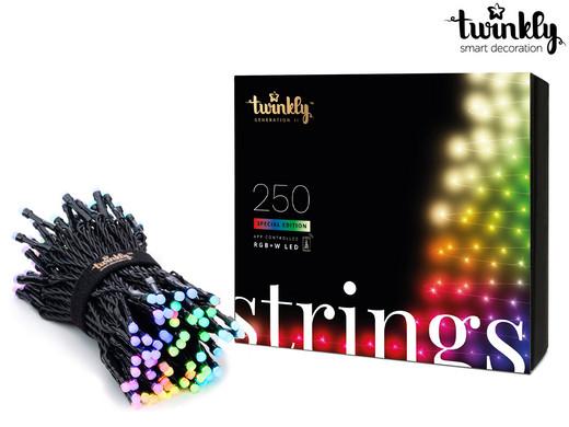 Twinkly LED Lichterkette RGB 250 69,96 € + 5,95 € VSK