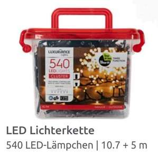 "540er LED Cluster ""Luxuriance Lights"" Lichterkette"