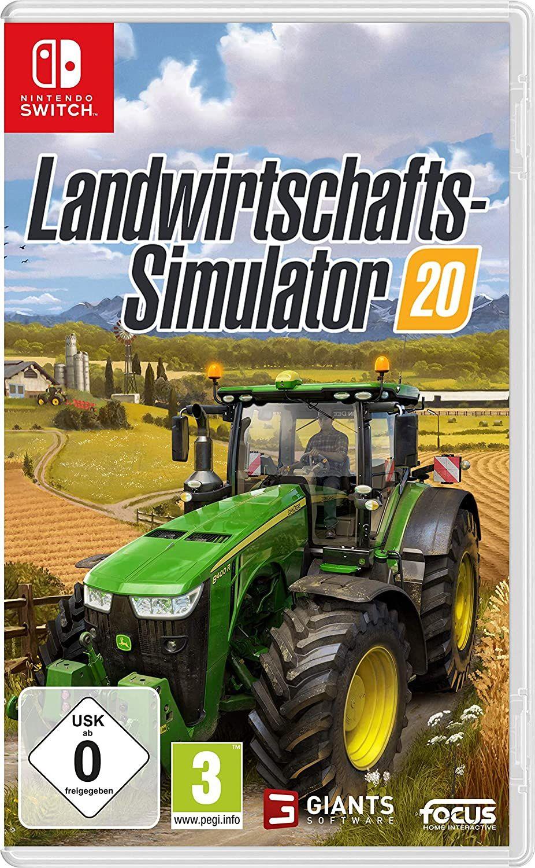 Landwirtschafts-Simulator 20 (Switch) [Amazon Prime]