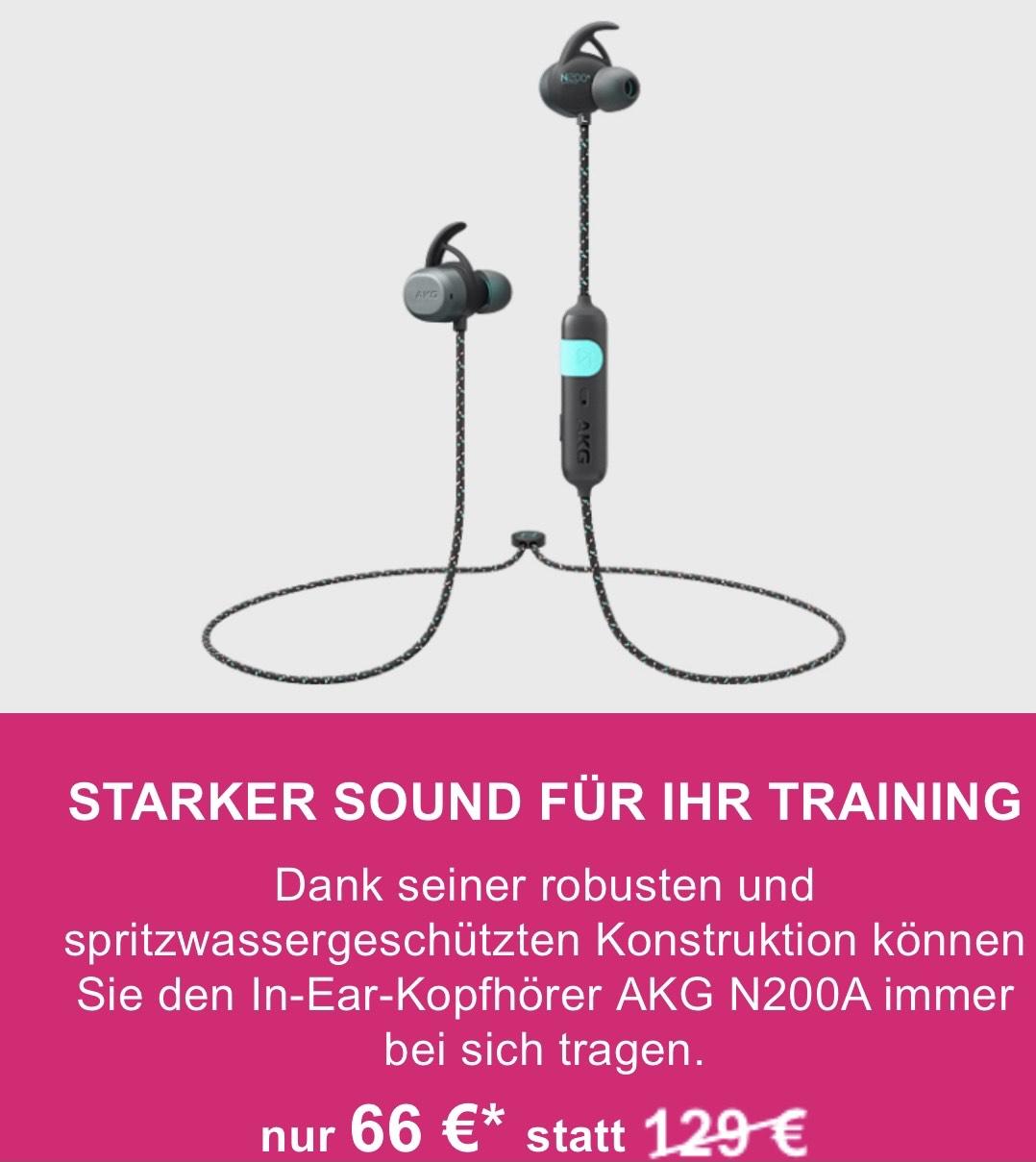 Samsung Wireless In-Ear-Kopfhörer AKG N200A [TELEKOM SHOP]
