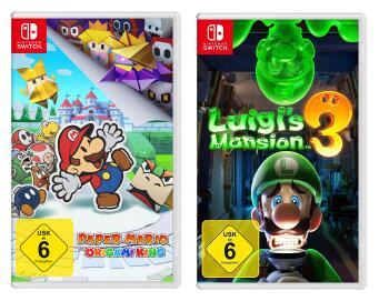 [Media Markt & Saturn Abholung / Amazon] Luigi's Mansion 3 | oder | Paper Mario - The Origami King für je 39,99€