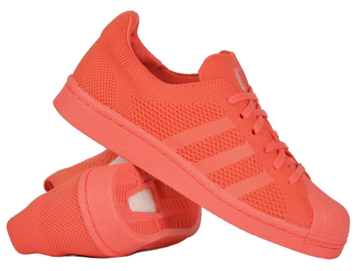 Adidas Superstar Primeknit Sneakers Rot (38-44) für 32,95 Euro