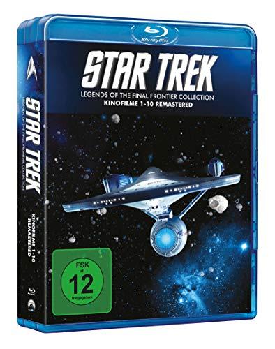 Star Trek - Kinofilme 1-10 Remastered (10 Blu-ray) (Amazon)